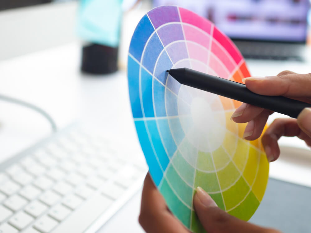 Express Print Color Wheel