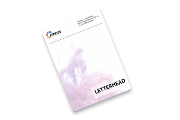 Express Print Letterhead Product Image